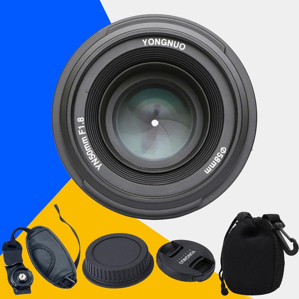 YONGNUO YN50mm f1.8 YN EF 50mm f/1.8 AF Lens YN50 Aperture Auto Focus for Canon 1000D 1100D 450D 500D 550D 600D 60D 5D Mark III объектив для фотокамеры other yongnuo 50 ef 50mm f 1 8 af mf canon yn ef 50mm f1 8