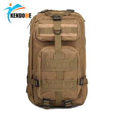 Hot  Unisex Outdoor Military Army Tactical Backpack Trekking Travel Rucksack Camping Hiking Trekking Camouflage Bag