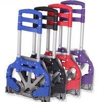 Auto Accessories Folding Luggage Carts Car Trolleys Aluminium Alloy Material Storage Bag