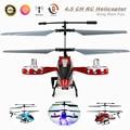 Mini 4.5CH helicóptero do controle de rádio de 4 canais I/R Helicóptero de Controle Remoto, Helicóptero DO RC, Helicóptero LED GYRO, Presentes Toy Kids