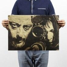 Профессиональный Леон оберточная бумага в винтажном стиле классический постер для декорации дома художественные журналы ретро-плакаты и принты