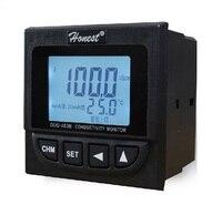 Бесплатная доставка Онлайн проводимость TDS Мониторы тестер метр контроллер 0 2000us/см 0 1000ppm УВД контакт реле и выходной ток