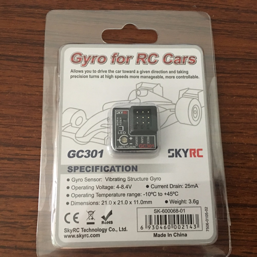 SKYRC GC301 Gyro Sensor for Adjusting RC Cars Steering Output gyro 317m в волгограде