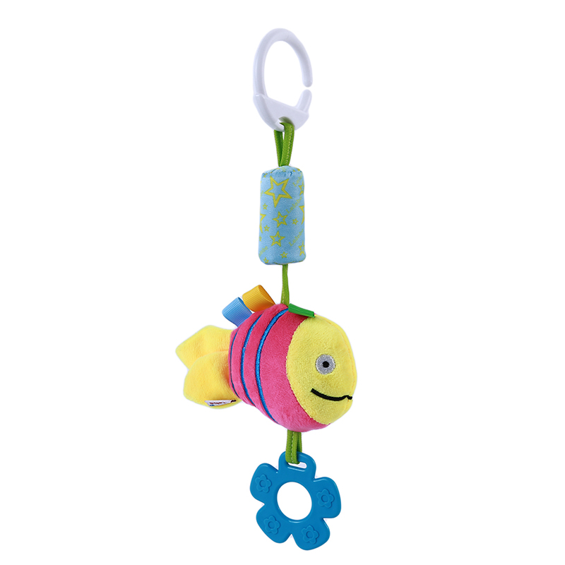 New Infant Mobile Baby Plush Toy Bed Wind Chimes Rattles Bell Toy Stroller For Newborn Kids Toy Baby Early Educational Toys