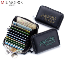 Business Card Holder Wallet Rfid Blocking Bank Credit Card Case ID Holder Mini Cardholder Fashion Women Coin Purse Women Wallets