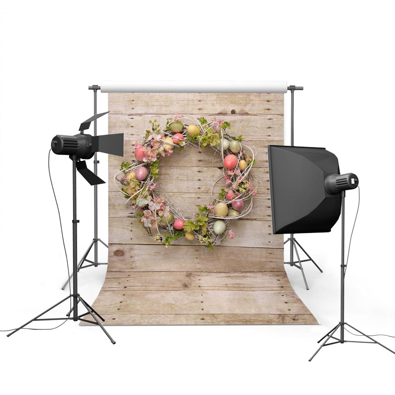 Easter Eggs Photographic Backgrounds Vinyl Photo Backdrops Wooden Floor Backgrounds For Photo Studio Photography Props Easter 3x5ft vinyl photography background for studio photo props brick wall floor photographic backdrops 90x150cm