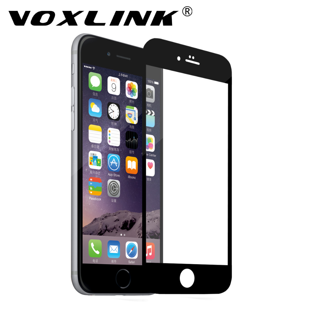 For iPhone 6 Plus/6S Plus Screen Protector,VOXLINK 5D 9H