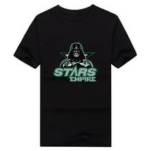 2017 New 100% Cotton stars Empire T-shirt Star Wars Darth Vader dallas T Shirt 0104-17