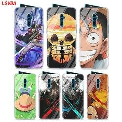 На Алиэкспресс купить стекло для смартфона silicone case one piece anime online for oppo reno z 10x zoom f11 f9 f7 f5 a7 r9s r17 realme 2 c2 3 pro phone shell cover