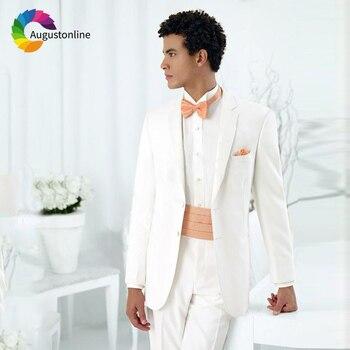 4c25f44a5 Los hombres trajes para boda novio Blazer medida Slim Formal trajes mejor  hombre de Terno Masculino Anzug Herren 2 piezas