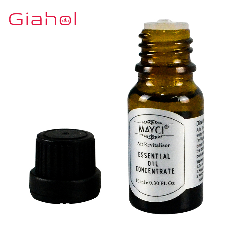 10ml Plant Aromatherapy Essential Oils Aroma Oil Diffuser Humidification / Tea Tree / Lemon / Rosemary / Mint /Lavender Oil