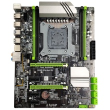 X99 Lga2011-3 Motherboard For Intel I7 E5 4-Channel Ddr4 2133/2400/2800 64G Ram,Nvme Ssd M.2,Sata3.0,Usb3.0,Pcie16X Slots