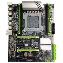 X99 Lga2011-3 Motherboard For Intel I7 E5 4-Channel Ddr4 2133/2400/2800 64G Ram,Nvme Ssd M.2,Sata3.0,Usb3.0,Pcie16X Slots