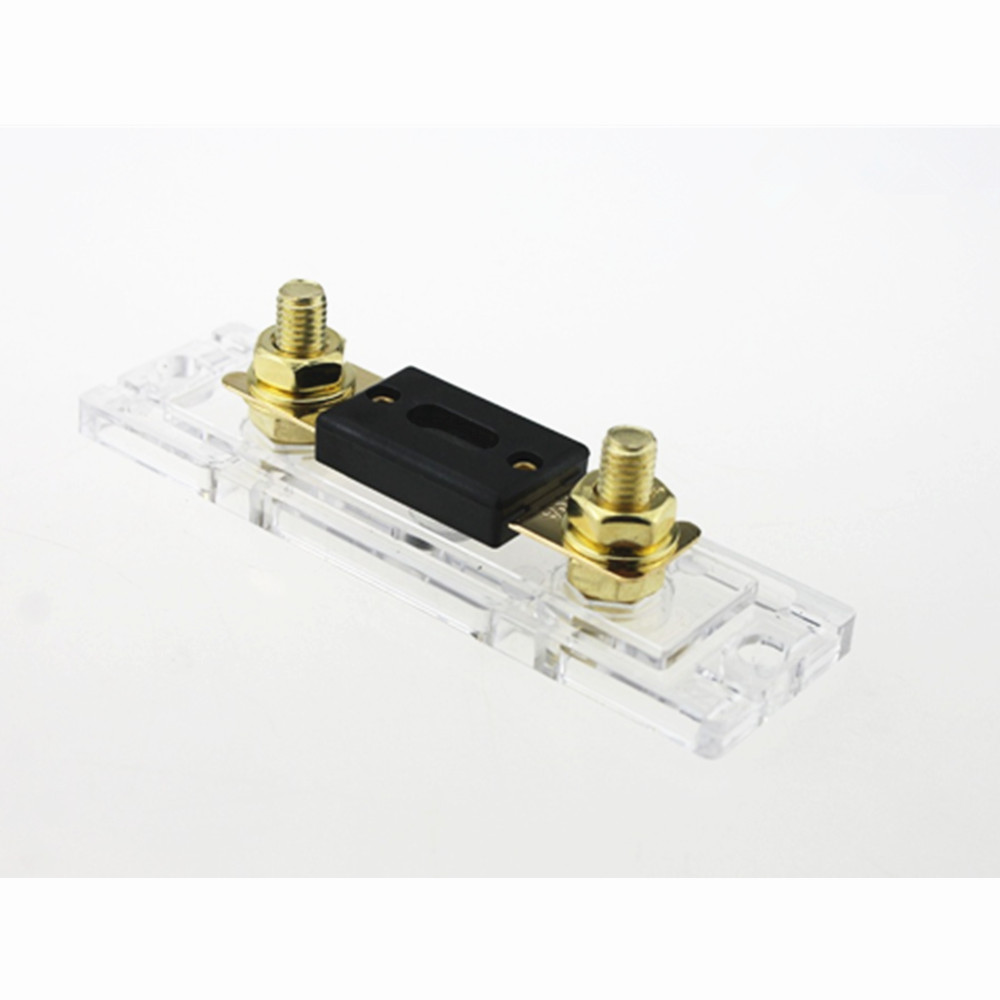 2 PCS 250A Large fork type In Line ANL Fuse Holder with 2 pcs 250A Fuse on sale in Fuses from Automobiles Motorcycles