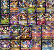 100pcs All Mega Shiny No repeat Cards 80 EX Ordinary Cards 20 MEGA Strongest Japan Charizard