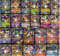 Pikachu Cards 100pcs All Mega Shiny No repeat Cards 80 EX Ordinary Cards + 20 MEGA Strongest Japan Charizard Anime Golden elf