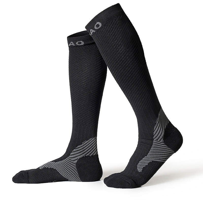 RB7703 R-Bao Men/Women Professional Compression Running Stockings High-quality Marathon Sports Socks Quick-Dry Bicycle Socks