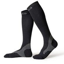 RB7703 R เบ้าผู้ชาย/ผู้หญิงมืออาชีพวิ่งบีบอัดถุงน่องที่มีคุณภาพสูงมาราธอนกีฬาถุงเท้าด่วนแห้งจักรยานถุงเท้า