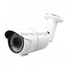 720P CCTV Surveillance Home Security Outdoor Day Night 42IR 4-9mm IP Camera With POE