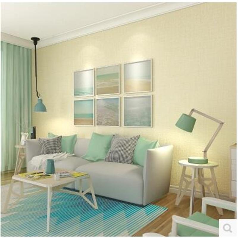 US $21.3 29% OFF|Beibehang behang Skandinavischen modernen einfachen tuch  muster wohnzimmer schlafzimmer tapeten vliestapete papier peint-in Tapeten  ...
