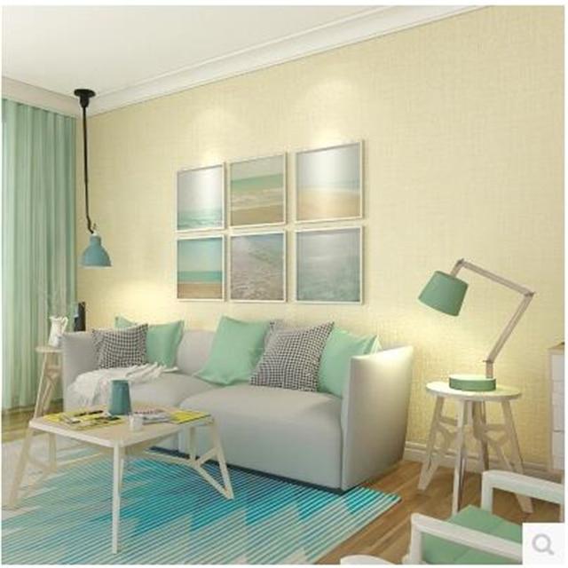 US $21.9 27% OFF Beibehang behang Skandinavischen modernen einfachen tuch  muster wohnzimmer schlafzimmer tapeten vliestapete papier peint in  Beibehang ...