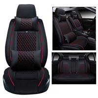 Car Cover Seats For Ford Focus 2013 2014 2015 2016 Seat Cover Custom Pu Leather Car