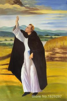 St. Dominic by Sandro Botticelli paintings For sale Home Decor Hand painted High quality
