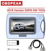 Оригинальный 2017 версия Пробег коррекции инструмента DSP3 DSPIII КМ инструмент DSP 3 DSP III работы для 2010 2017 лет новые модели по OBD2