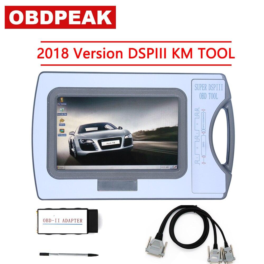 Versione originale 2017 Contachilometri Strumento di Correzione di distanza DSP3 DSPIII KM Strumento di Strumento di DSP 3 DSP III di Lavoro Per 2010-2017 Anni nuovi Modelli Da OBD2