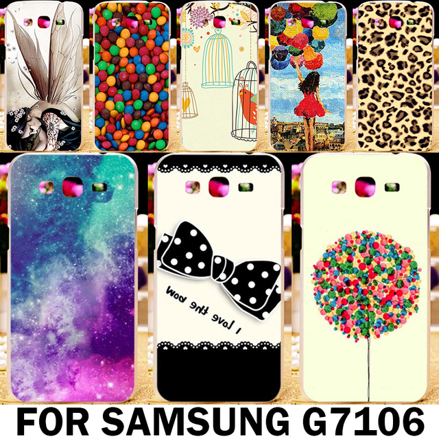 Akabeila Paintbox Phone Case Cover Skin Shell For Samsung Galaxy Grand 2 Duos G7102 G7105 G7106 G7108 G7109 G7100 G71S SM-G7102