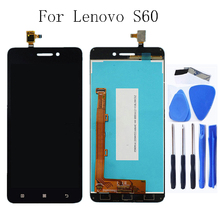 For Lenovo S60 S60W S60T S60A Original LCD Touch Screen Digitizer Display Panel Replacement + Free Tools