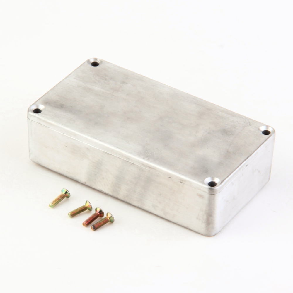 1PCS 1590B Style Guitar Effects Pedal Aluminum Stomp Box Enclosure for DIY Guitar Pedal Kit in Guitar Parts Accessories from Sports Entertainment