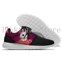 Lovely rabbits and radishes Shipped From China boys and girls Lace Up Comfortable Walking Shoe Men Sport Sneakers