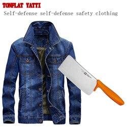 Zelfverdediging Tactische SWAT POLITIE Gear Anti Cut Mes Slip Shirt Anti Steekwerende lange Mouwen Militaire Security Clothin