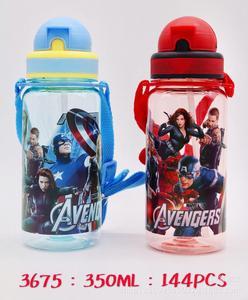 Соломенный ремешок для бутылки с водой для девочек и мальчиков, 1 шт., 350 мл