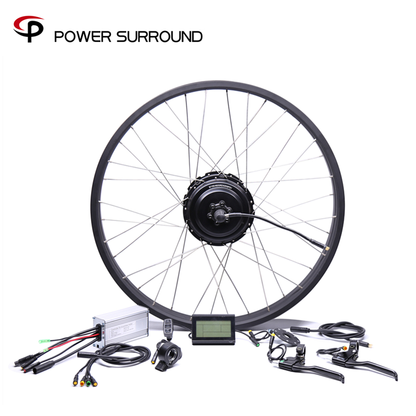 2019 Rushed Waterproof 48v750w Bafang Fat Rear Electric Bike Conversion Kit Brushless Motor Wheel With 20
