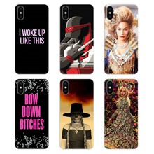 Silicone Phone Shell Cover Beyonce Signed For Huawei Honor 7X V10 6C V9 6A Play 9 Mate 10 Pro Y7 Y5 P8 P10 Lite Plus GR5 2017(China)