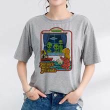 Korean Clothes 90s Vintage Tshirt Women 80s Tumblr Female T-shirt Women Funny St