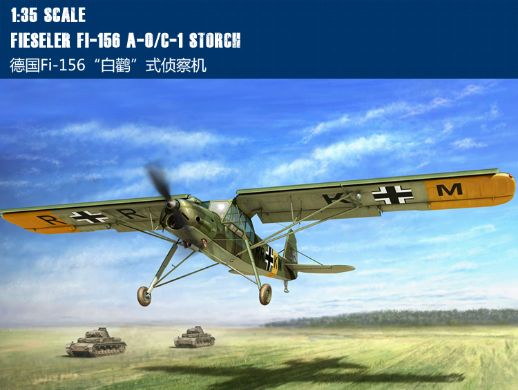 RealTS Hobbyboss 1/35 80180 Fieseler Fi-156 A-0/C-1 Storch