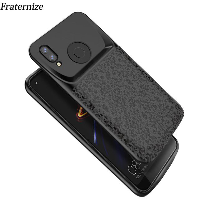 new concept 4e9c6 acc2c a2 Shockproof battery charger case For Xiaomi Mi A2 Mi 6X 64gb External  charger Cover Backup power bank Charging case Capa