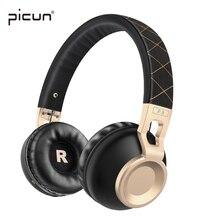 Picún P8 Wireless Bluetooth Auriculares Estéreo Soporte de Tarjeta TF Con y Micrófono Auriculares Auriculares Bluetooth para el Teléfono Android MP3
