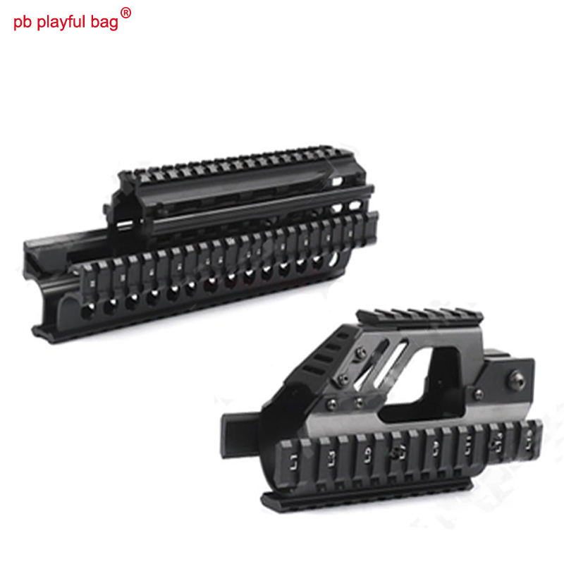 Outdoor hunting essential tactical competition RunQi P90 AK upgraded version of fishbone water bullet gun accessories