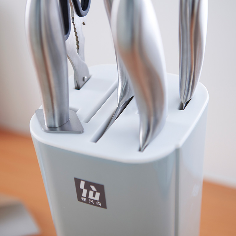 Knife Holder Multifunctional BPA Free Plastic Tool Kitchen Appliances Hidden Knife Stands Kitchenware Partner Knife Block With in Blocks Roll Bags from Home Garden