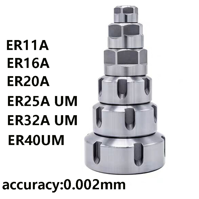 ER11 ER16 ER20 ER25 ER32 A UM China's Best Quality And High Precision ER Nut CNC Tool Frame Nut Engraving Machine Tool Lathe