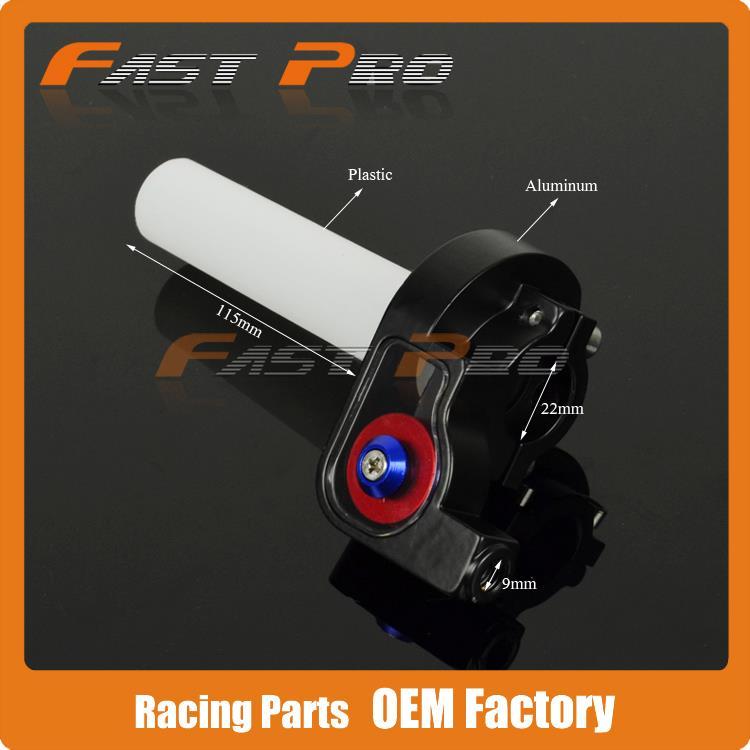 Apretones Settle Twist Acelerador Abrazadera de plástico con - Accesorios y repuestos para motocicletas