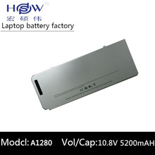 Laptop Battery A1280 For Apple MacBook 13 A1278 MB771LL/A MB771 MB771J/A MB771*/A Free shipping