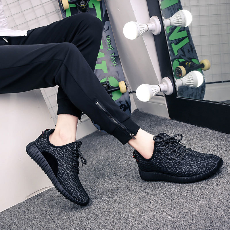 2017 spring and summer new black coconut shoes men outdoor casual shoes
