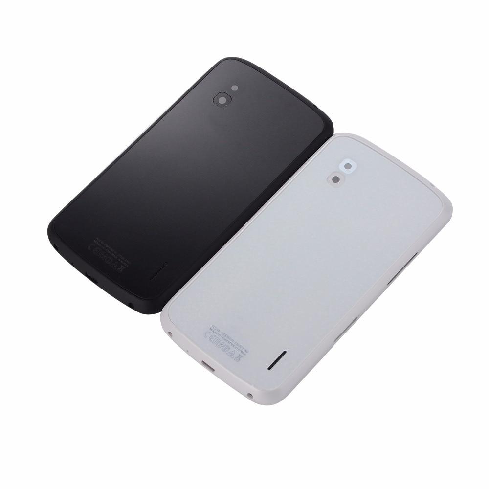 New Battery Glass Door Cover Back Housing + NFC Antenna for LG Nexus 4 E960 Back Glass Battery Cover