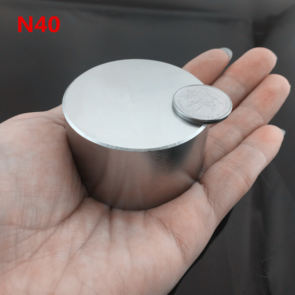1pcs Neodymium magnet 50x30 N40 Super strong round magnet Rare Earth NdFeb 50*30mm strongest permanent powerful magnetic 1pcs neodymium magnet n52 d53x30 super strong round magnet rare earth 50 30mm strongest permanent powerful magnetic iron shell