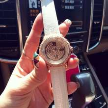 Luxurious Ladies Trend Watches Rome Namerals Girls Leather-based Quartz Watch Crystal Rhinostone Wristwatches Relogio Feminino OP001
